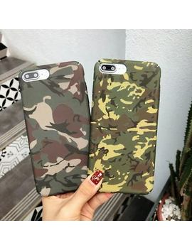 Cool Army Camo Camouflage Hard Back Phone Case Cover Slim For I Phone X 8 7 Plus by Ebay Seller