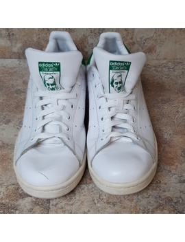 Obo Mens White Adidas Shoes Stan Smith Sz 9.5 by Adidas