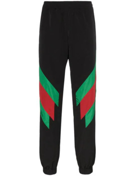 Web Stripe Sweat Pants by Gucci