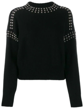 Studded Pullover Jumper by Diesel