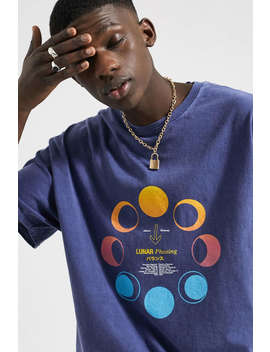 Uo Lunar Blue Tee by Urban Outfitters
