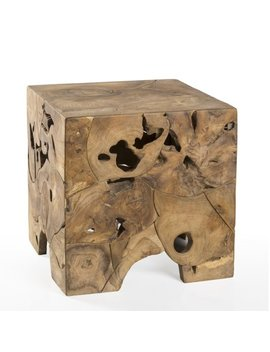 Padmas Plantation Teak Root End Table by Padmas Plantation