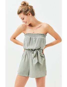 Lost + Wander Rain Forest Romper by Pacsun