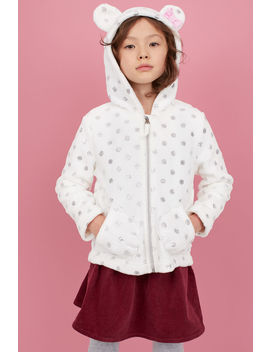 Teddy Vest Met Applicaties by H&M