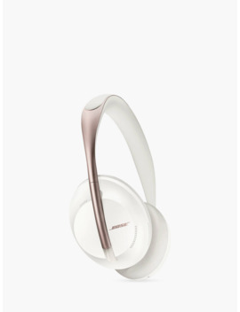 Bose® 700 Noise Cancelling Over Ear Wireless Bluetooth Headphones With Mic/Remote, White by Bose®