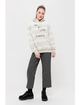 Try A Little Kindness Hoodie Sweatshirt by Urban Outfitters