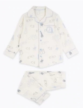 2 Piece Peter Rabbit™ Woven Pyjama Set (1 6 Years) by Marks & Spencer