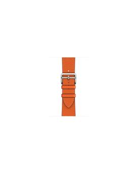 AppleWatch Hermès   44mm Feu Epsom Leather Single Tour by Apple