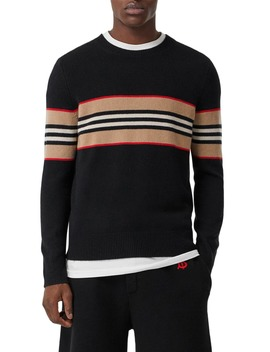 Icon Stripe Cashmere Sweater by Burberry
