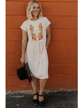 Maddy Sunflower Dress by Roolee