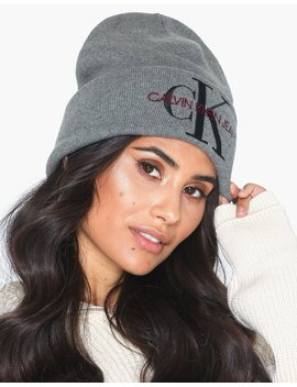 J Basic Women Knitted Beanie by Calvin Klein