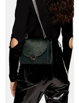 Cassidy Green Cross Body Bag by Topshop