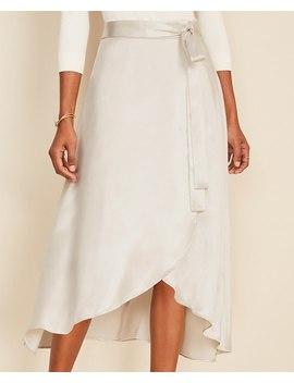 Midi Wrap Skirt by Ann Taylor