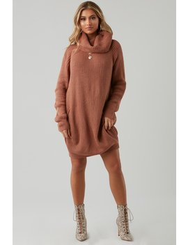 Used To Love You Oversized Sweater Dress by Honeybum