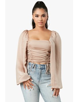Poised Babe Top by Honeybum