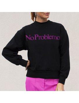 Aries Arise No Problemo Sweatshirt   Black by Garmentory