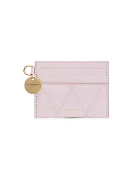 Losange Quilted Leather Card Case by Givenchy