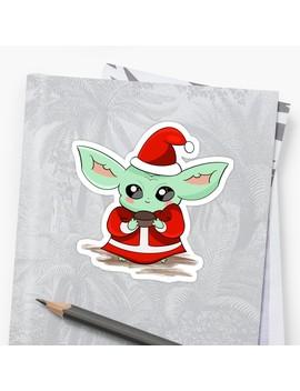 Baby Yoda Sticker by Nelliodas