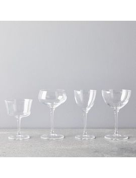 Vintage Inspired Italian Cocktail Glasses by Bormioli Rocco