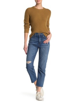 Cropped Classic Straight Leg Jeans by Madewell