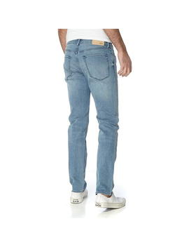 Maine Light Wash Regular Fit Jeans by Boss