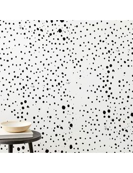 Loose Dot Wallpaper by West Elm