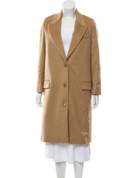 Long Wool Coat by Burberry