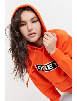 Obey Jawbreaker Hoodie Sweatshirt by Obey