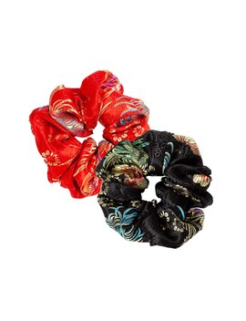 Nini Brocade Scrunchie by Are You Am I