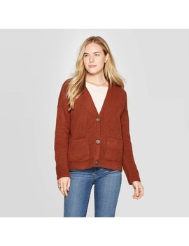 Women's Long Sleeve V Neck Cardigan   Universal Thread™ by Universal Thread