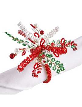 Peppermint Spray Napkin Ring by Pier1 Imports