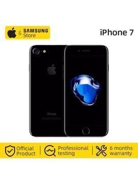 Teléfono Móvil Apple I Phone 7 4 G Lte Global 32/128 Gb Rom Ios Desbloqueado (Usado 99% Nuevo) by Ali Express.Com