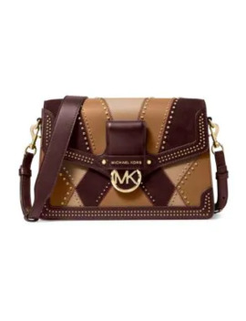 Jessie Patchwork Shoulder Bag by Michael Michael Kors