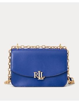 Leather Madison Crossbody Bag by Ralph Lauren