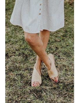 Free People Mont Blanc Sandal In Natural by Roolee