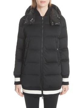 Harfang Quilted Down Bomber Coat by Moncler