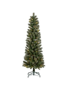 6ft Pre Lit Artificial Christmas Tree Virginia Pine Clear Lights   Wondershop™ by Wondershop