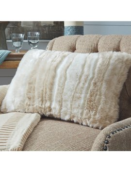 Wilson Faux Fur Throw Pillow by Union Rustic