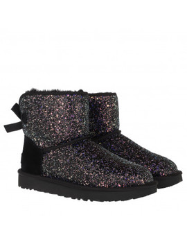 W Classic Mini Bow Cosmos Black by Ugg