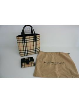 Burberry Small Bag And Matching Wallet Perfect by Burberry