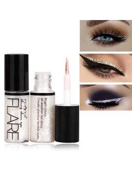 1 Pcs Pro Maquillage Liquide Eyeliner Maquillage Rapide Sec Argent Glitter Pigment Beauté Pour Eye Liner Cosmétiques Marque Liners Crayon by Ali Express.Com