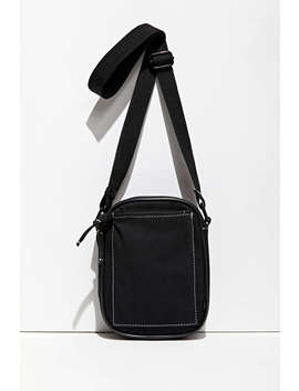Uo Contrast Stitch Mini Messenger Bag   by Urban Outfitters