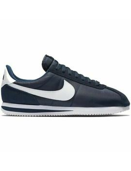 Nike Cortez Basic Nylon 819720411 Blue White Men's Shoes Sneakers Sizes by Nike
