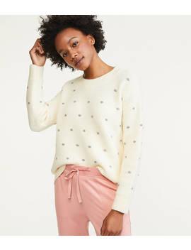 Lou &Amp; Grey Shimmer Dot Sweater by Loft