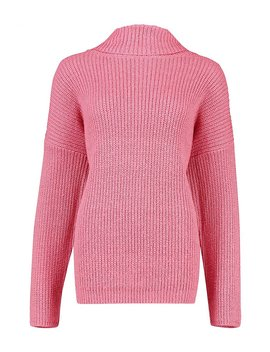 Roll Neck Oversized Jumper by Boohoo