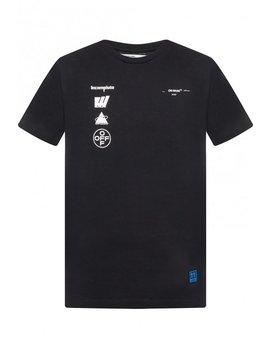 T Shirt Z Nadrukiem Z Logo by Off White
