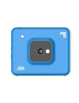 "Sharper Image Instant Print Camera, 3"" X 3"" Print, 4 Pass Tech, Blue by Sharper Image"