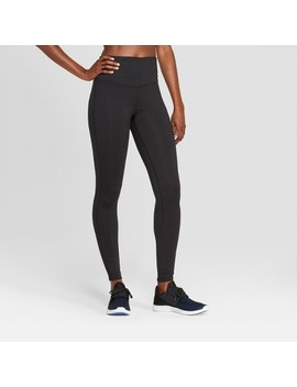 Women's Everyday High Waisted Leggings   C9 Champion® Black by Target