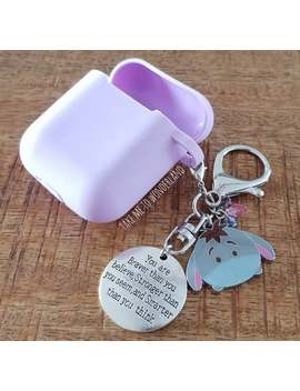 Airpods Case Eeyore Keychain, Purse Charm by Etsy