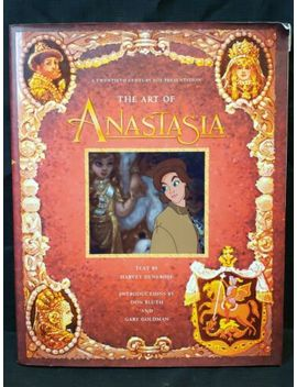 The Art Of Anastasia Harvey Deneroff Twentieth Century Fox Animated Movie Book by Ebay Seller